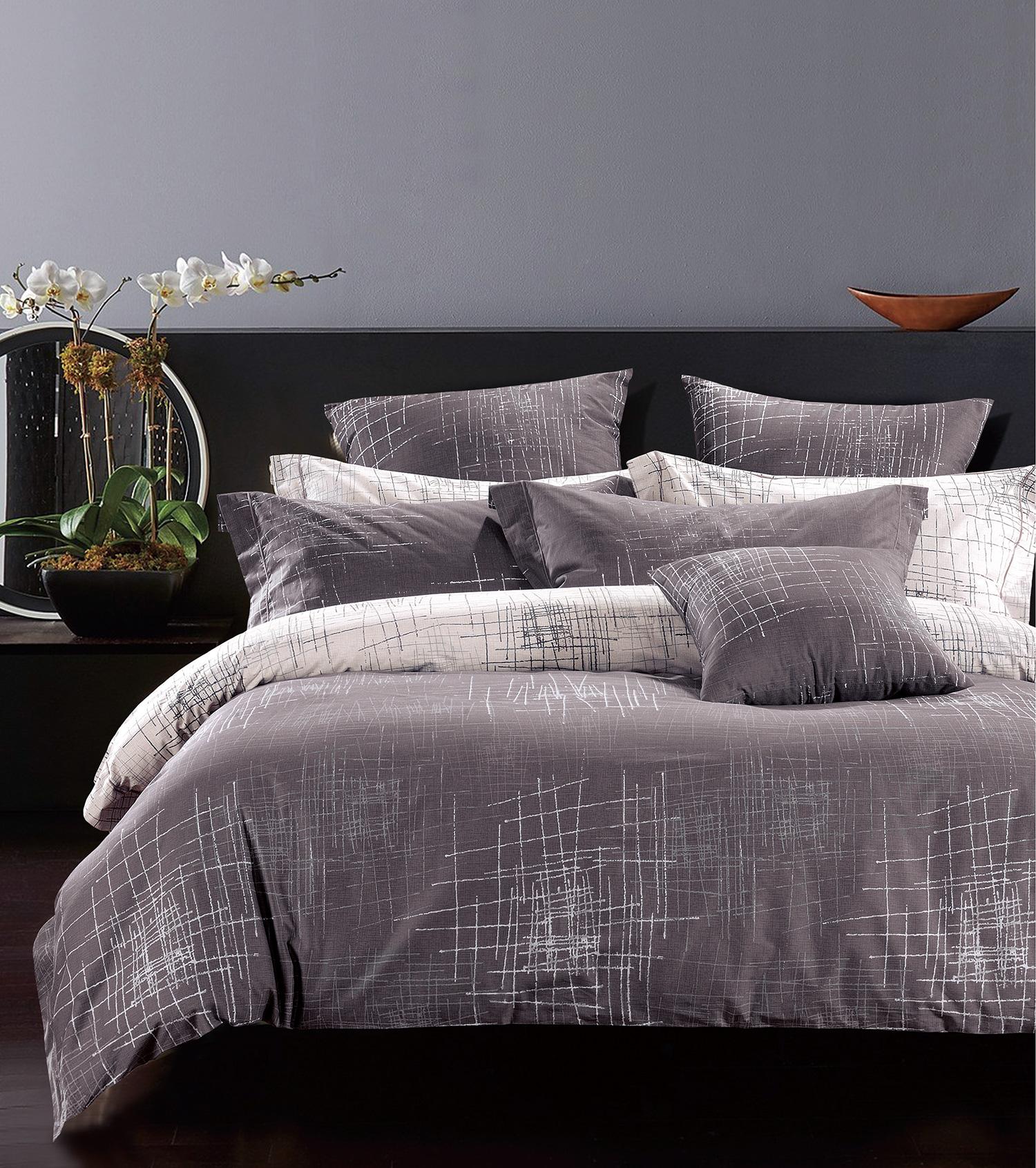 Комплект сатинового постельного белья LS-024 Elin