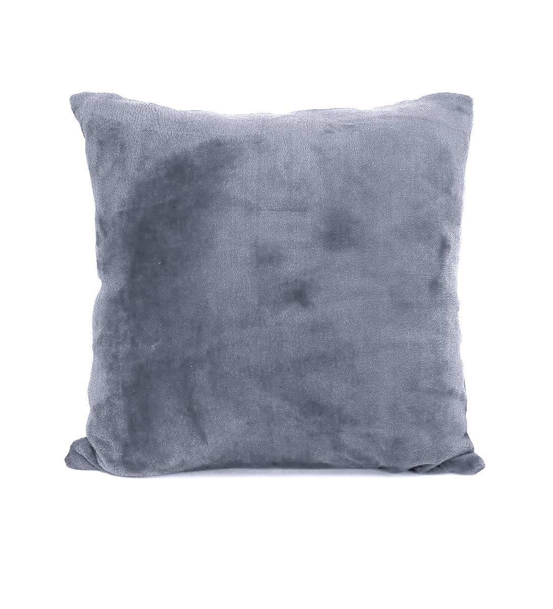 Наволочка из экстрасофта светло-серый Elin
