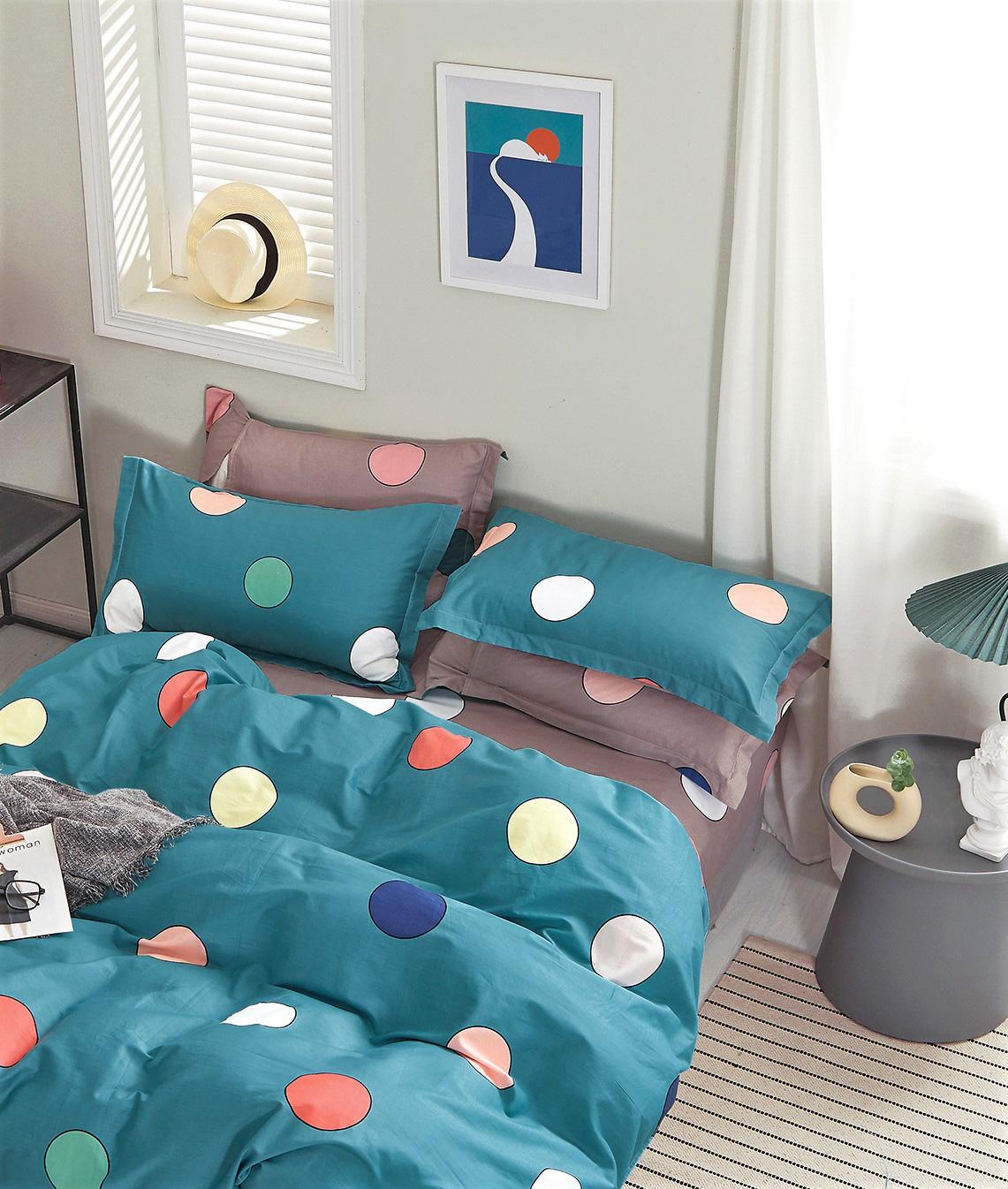 Комплект сатинового постельного белья PS-198 Elin