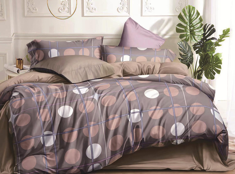 Сатиновый комплект постельного белья PS-215 Elin