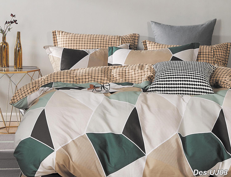 Комплект постельного белья из сатина PS-241 Elin