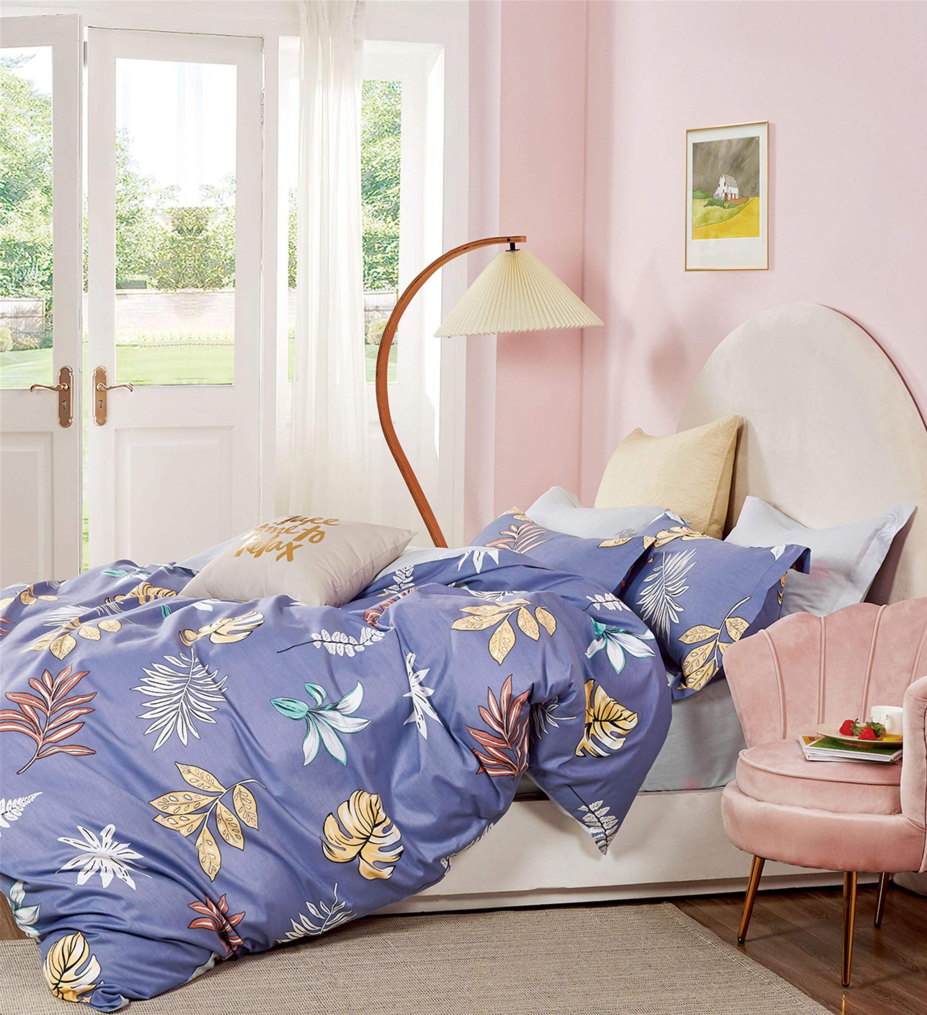 Сатиновый комплект постельного белья PS-275 Elin
