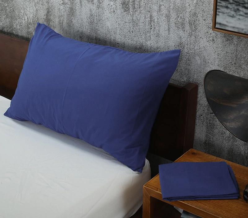 Наволочки из сатина-люкс RMS-018 синий Elin