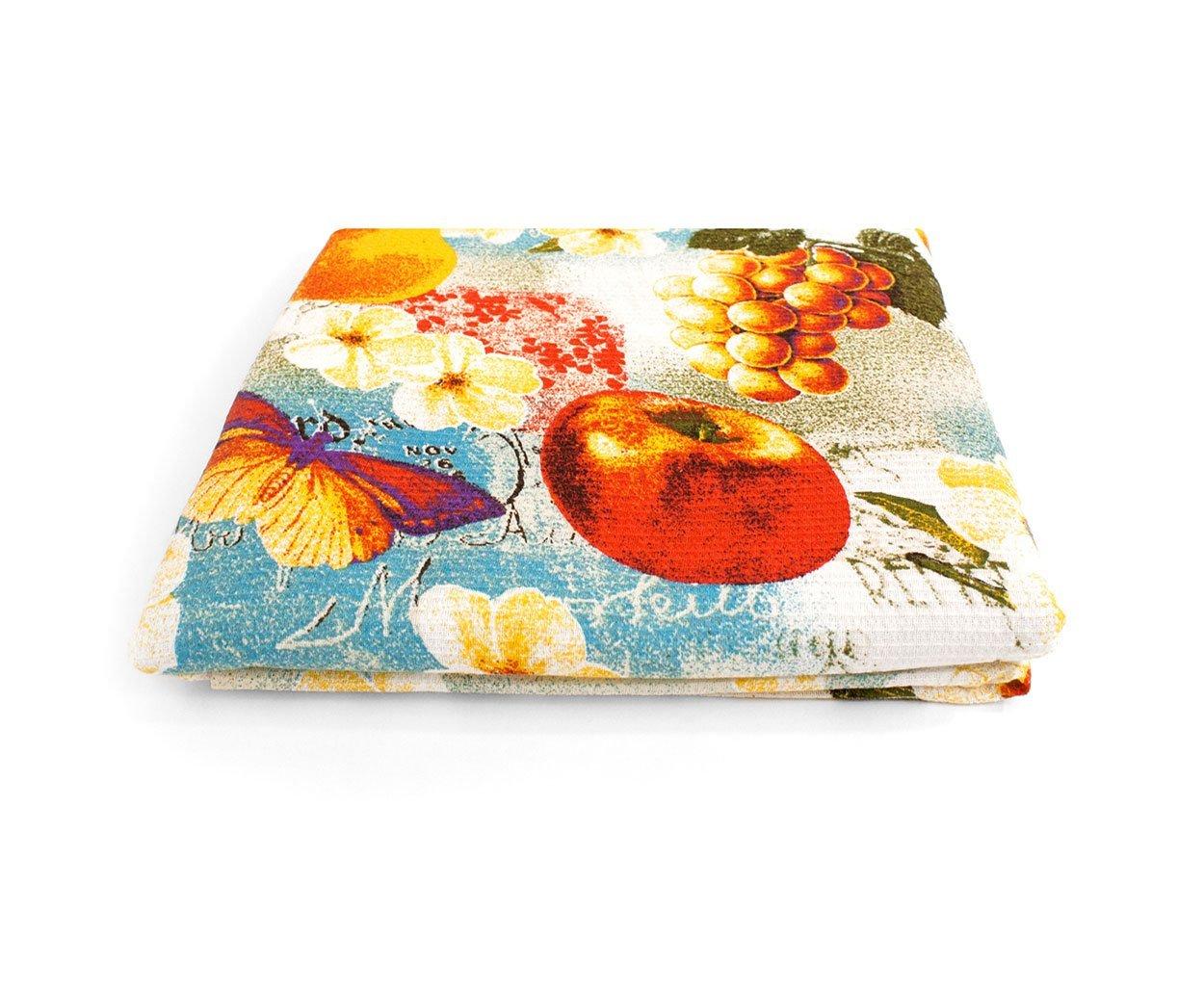 Фруктовый сад - вафельные полотенца, простыни для сауны Elin