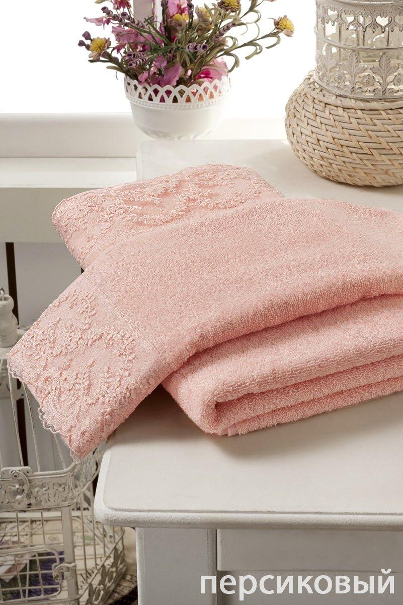 Комплект махровых полотенец 2 шт Elinda Karna