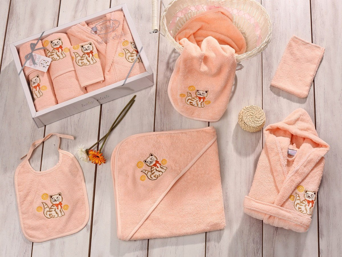 Baby club персик - набор 5 предметов от 1-3 лет Karna