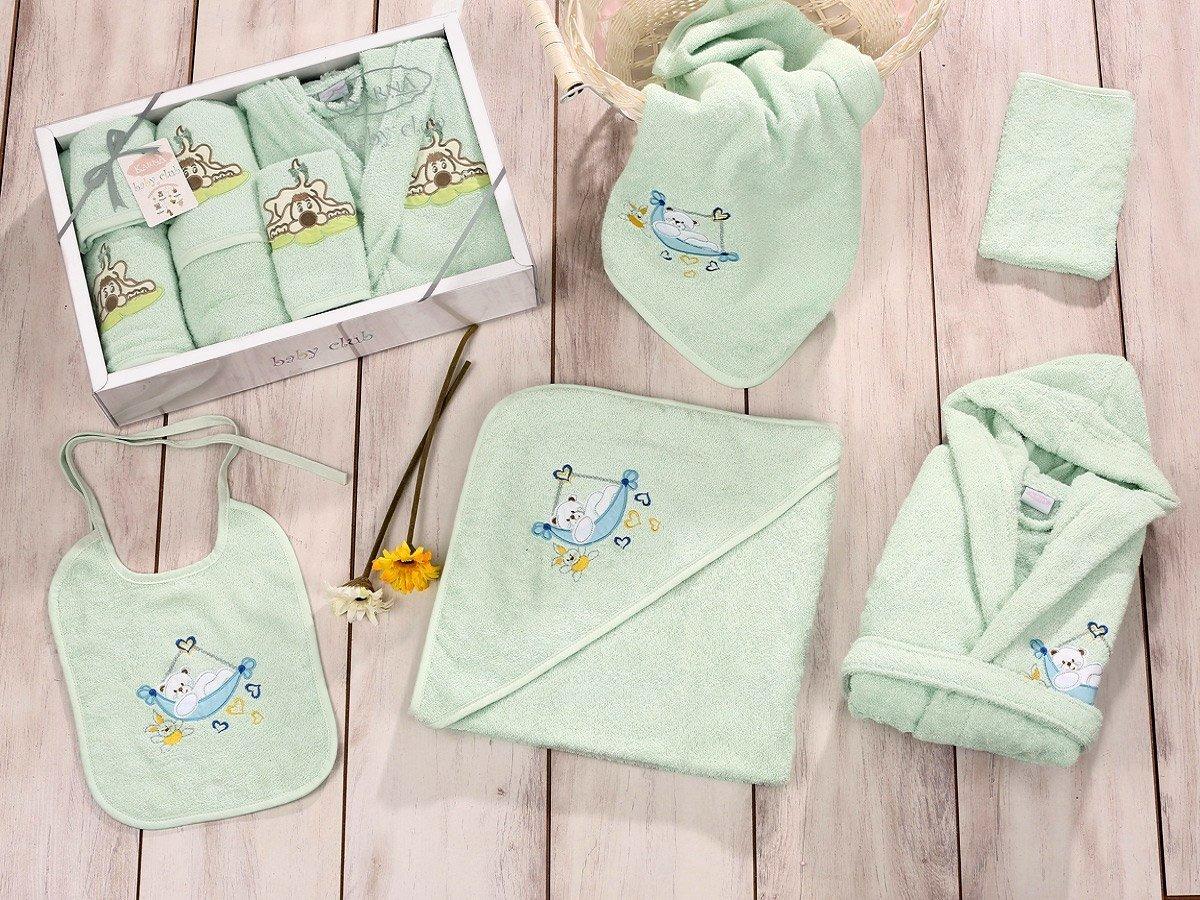 Baby club св.зеленый - набор 5 предметов от 1-3 лет Karna