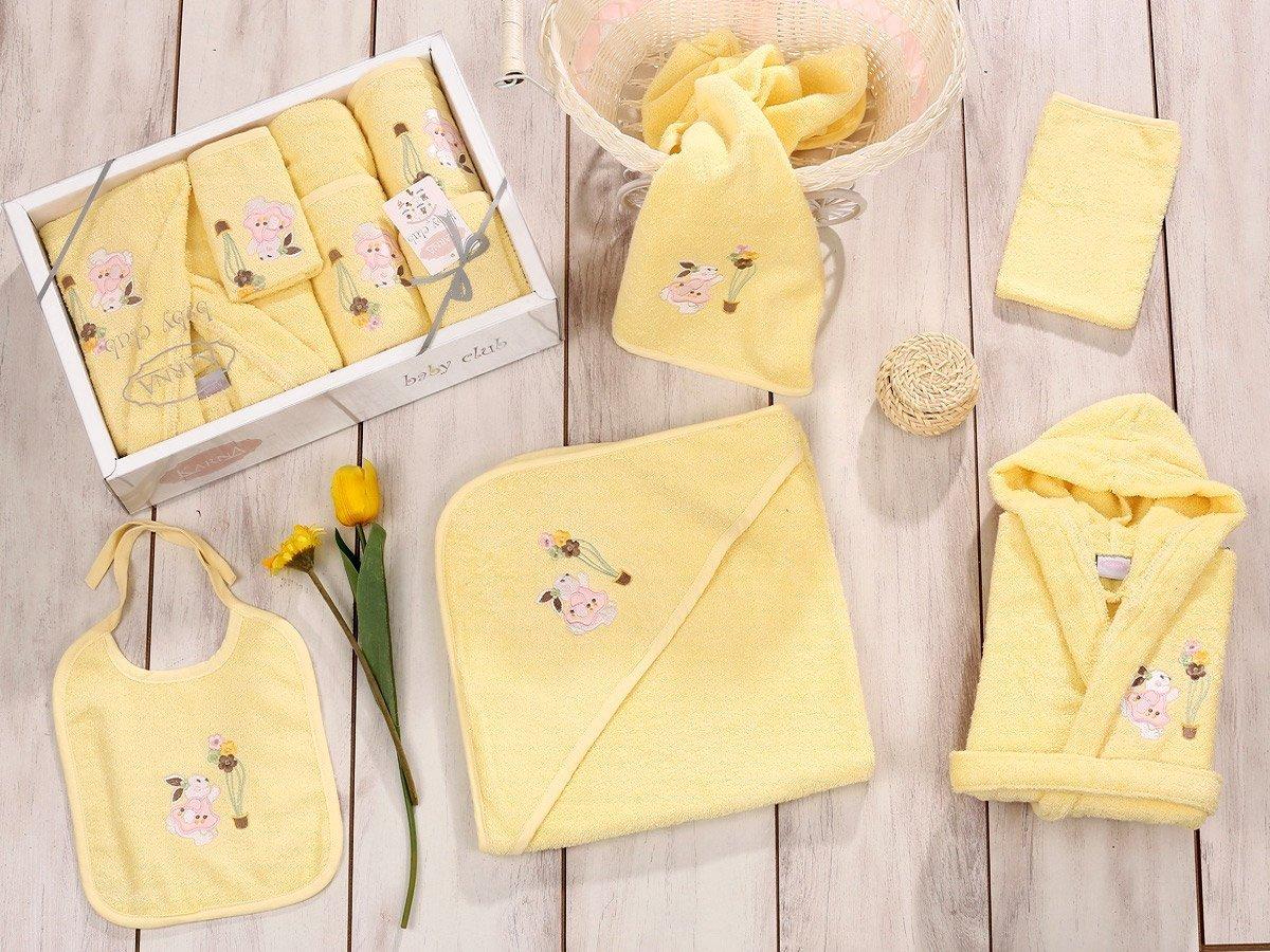 Baby club желтый - набор 5 предметов от 1-3 лет Karna
