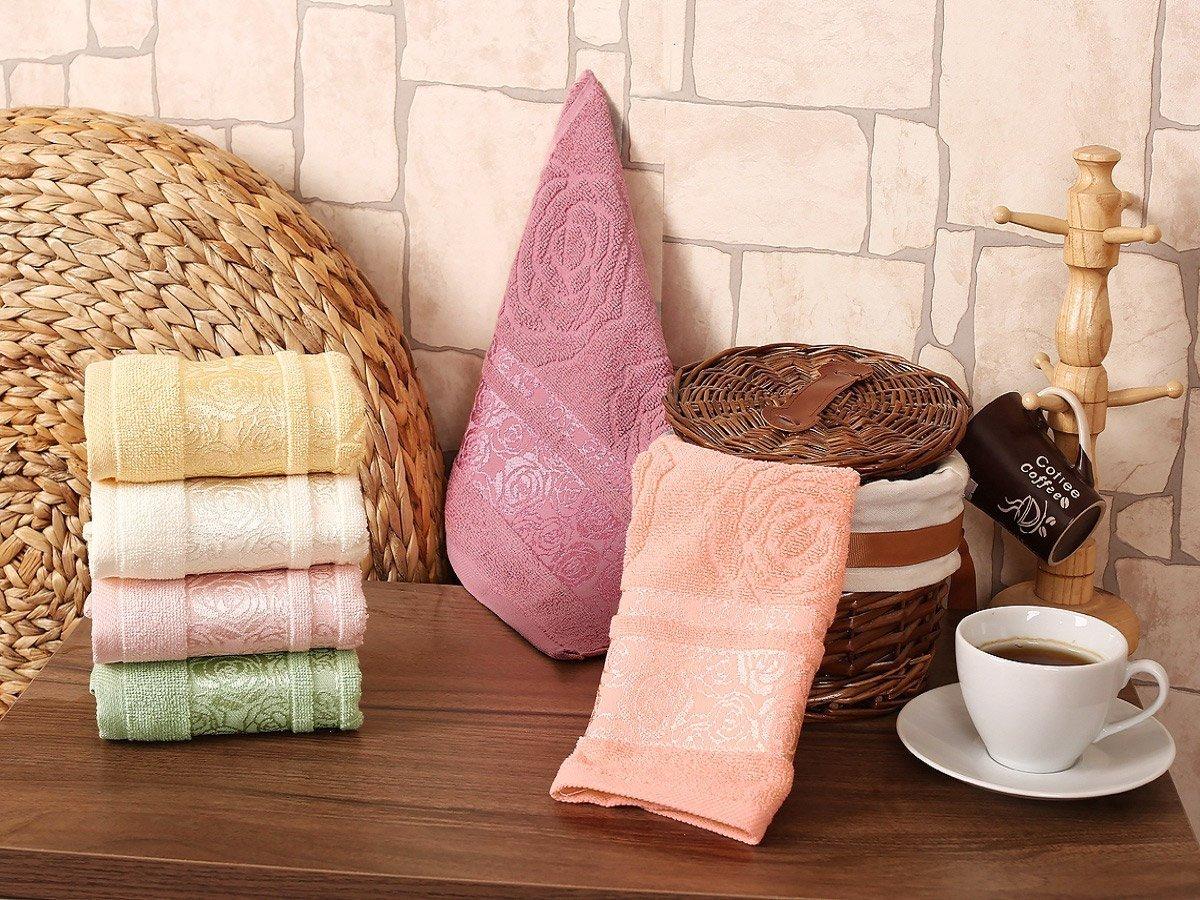 Rose garden - комплект махровых полотенец 6шт. (30x50) Karna
