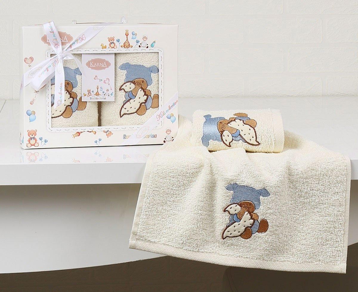 Комплект детских полотенец Bambino 2135 V1 Karna