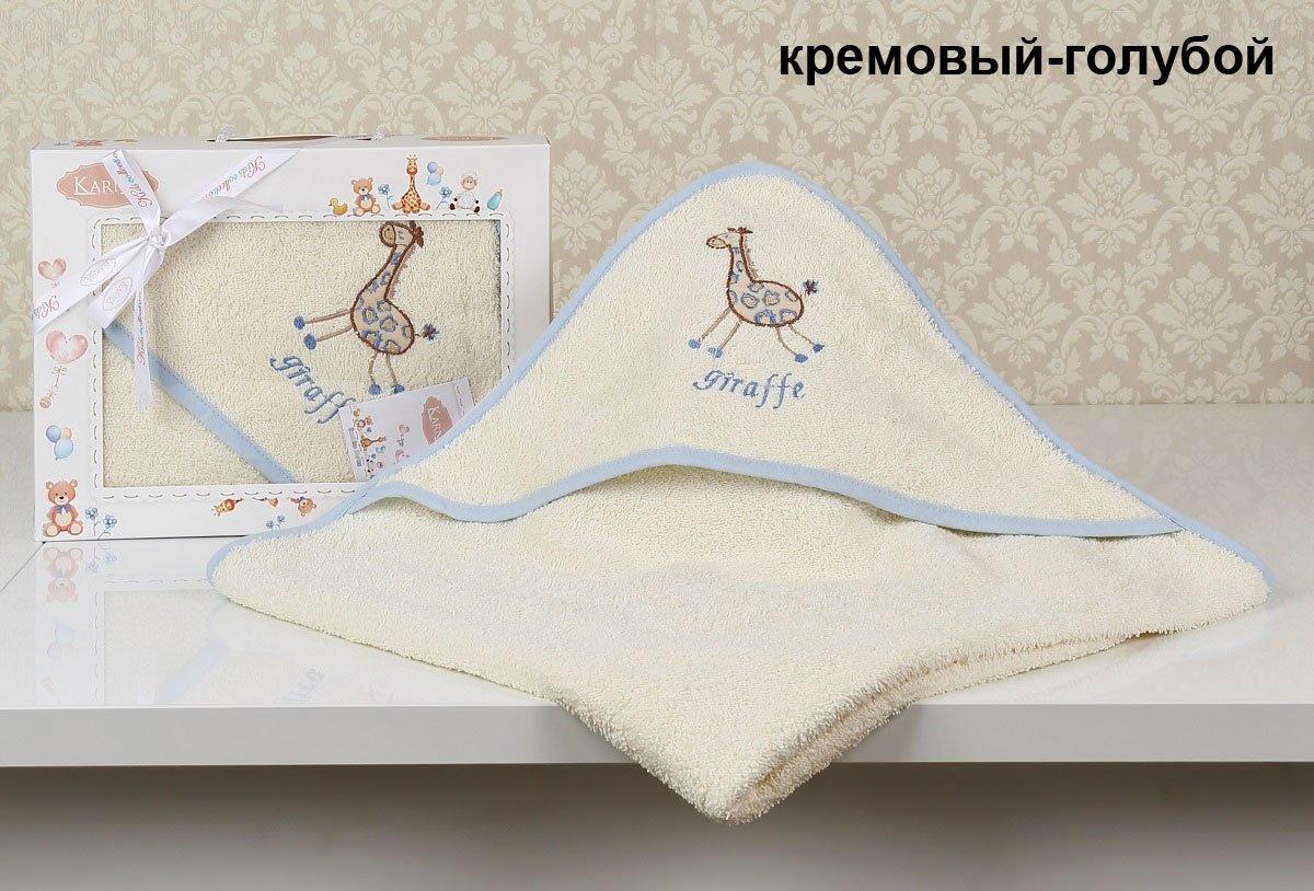 Детское полотенце-конверт Bambino Giraffe 2138 Karna