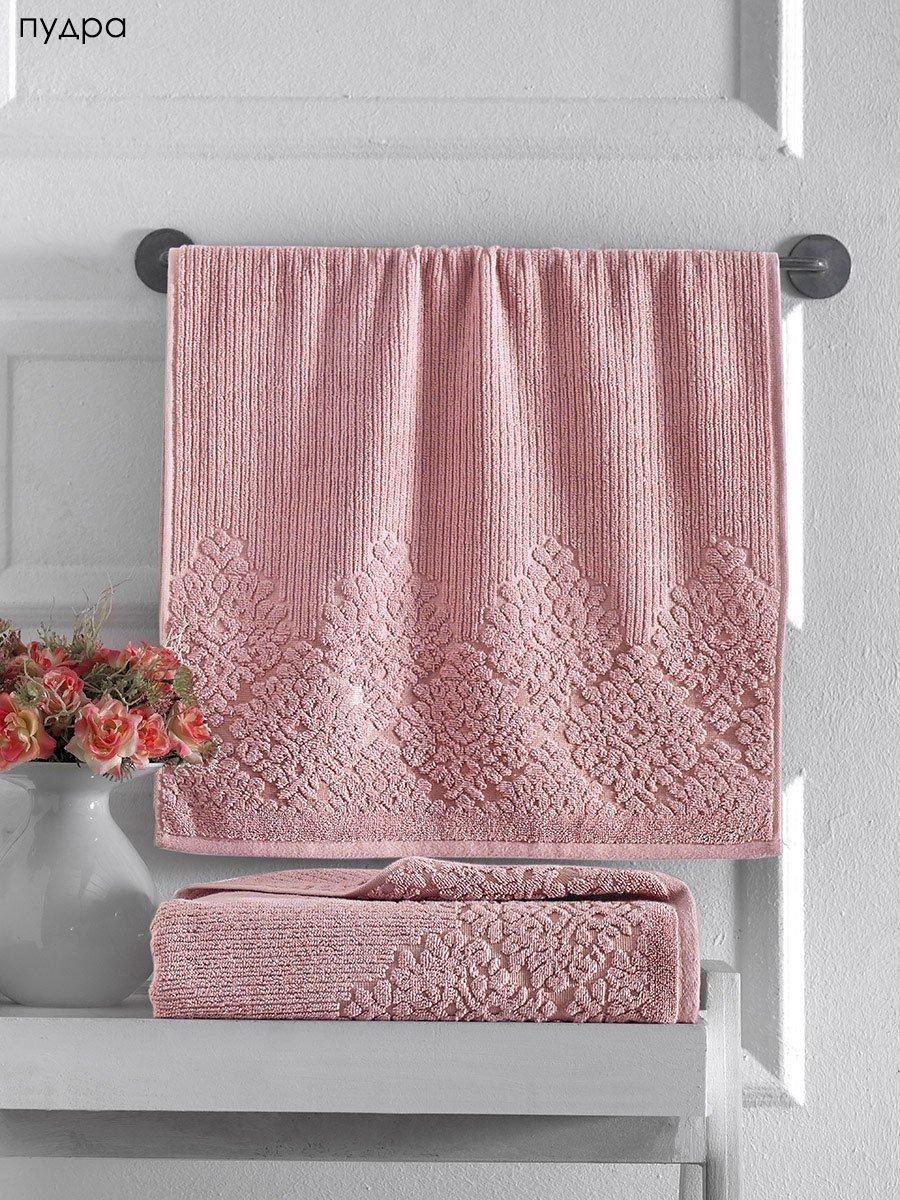 Хлопковое полотенце с жаккардом (1 шт) Verda Karna