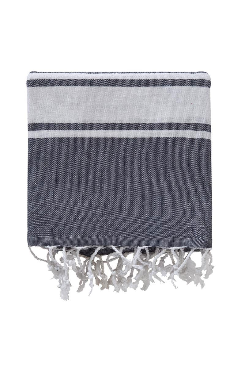 Хлопковое полотенце для сауны 100x180 (1 шт) 3223 Peshtemal V1 Karna