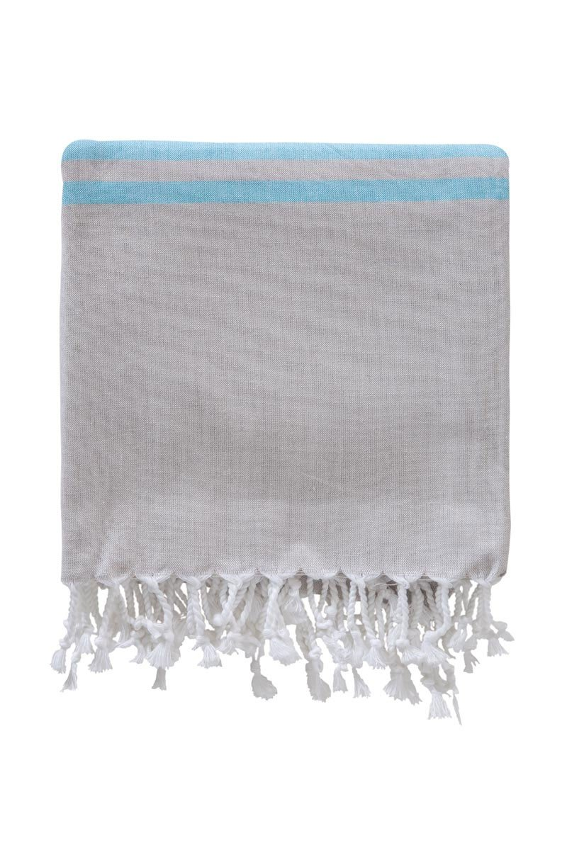 Хлопковое полотенце для сауны 100x180 (1 шт) 3223 Peshtemal V11 Karna