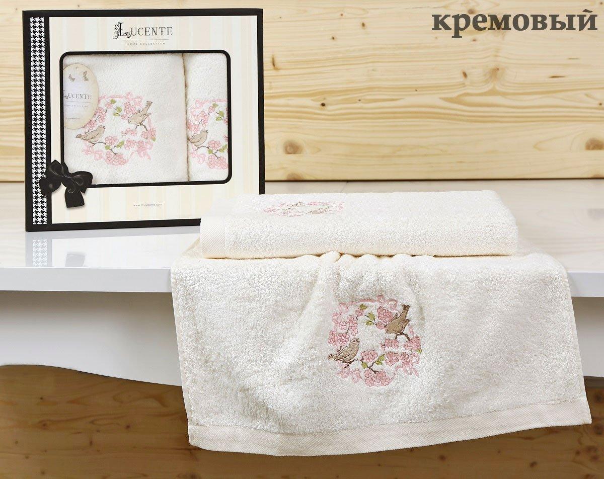 Комплект бамбуковых полотенец (50x90+70x140) Corona Karna