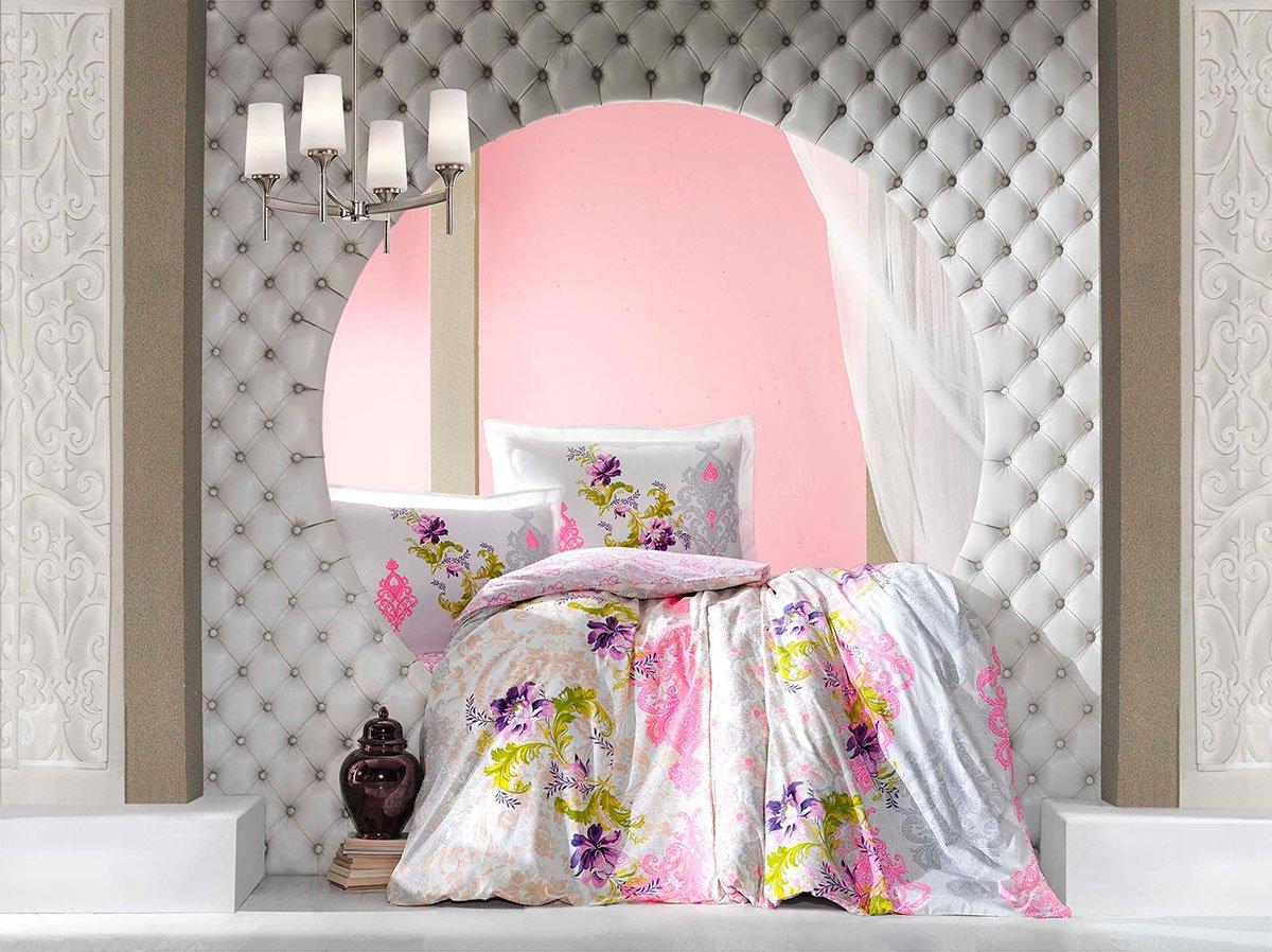 Постельное белье из ранфорса Neon Karel розовый Altinbasak