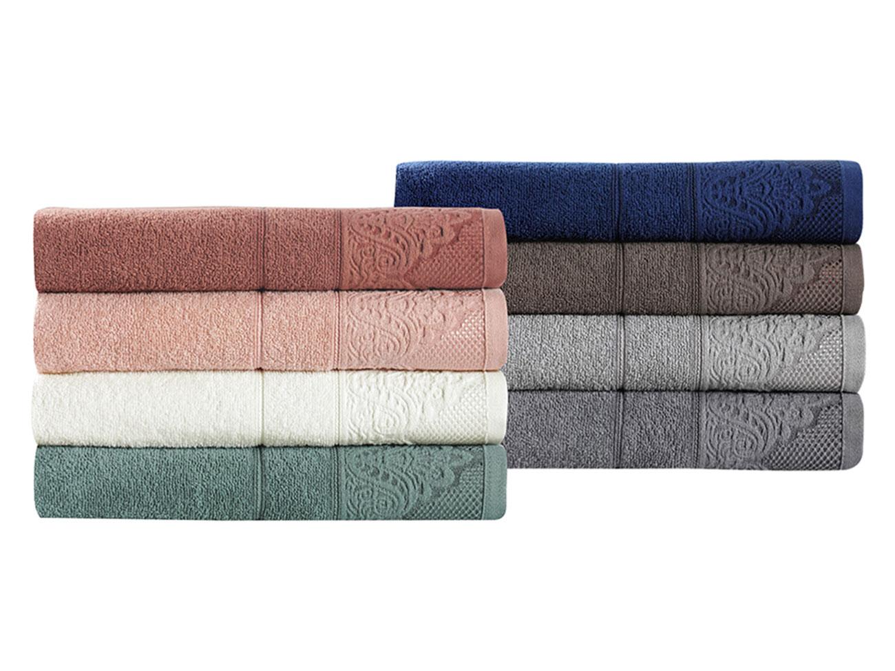 Махровое жаккардовое полотенце (1 шт) 3572 Siesta Karna