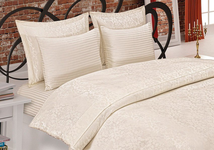 Gupursuz кремовый постельное белье Maison Dor
