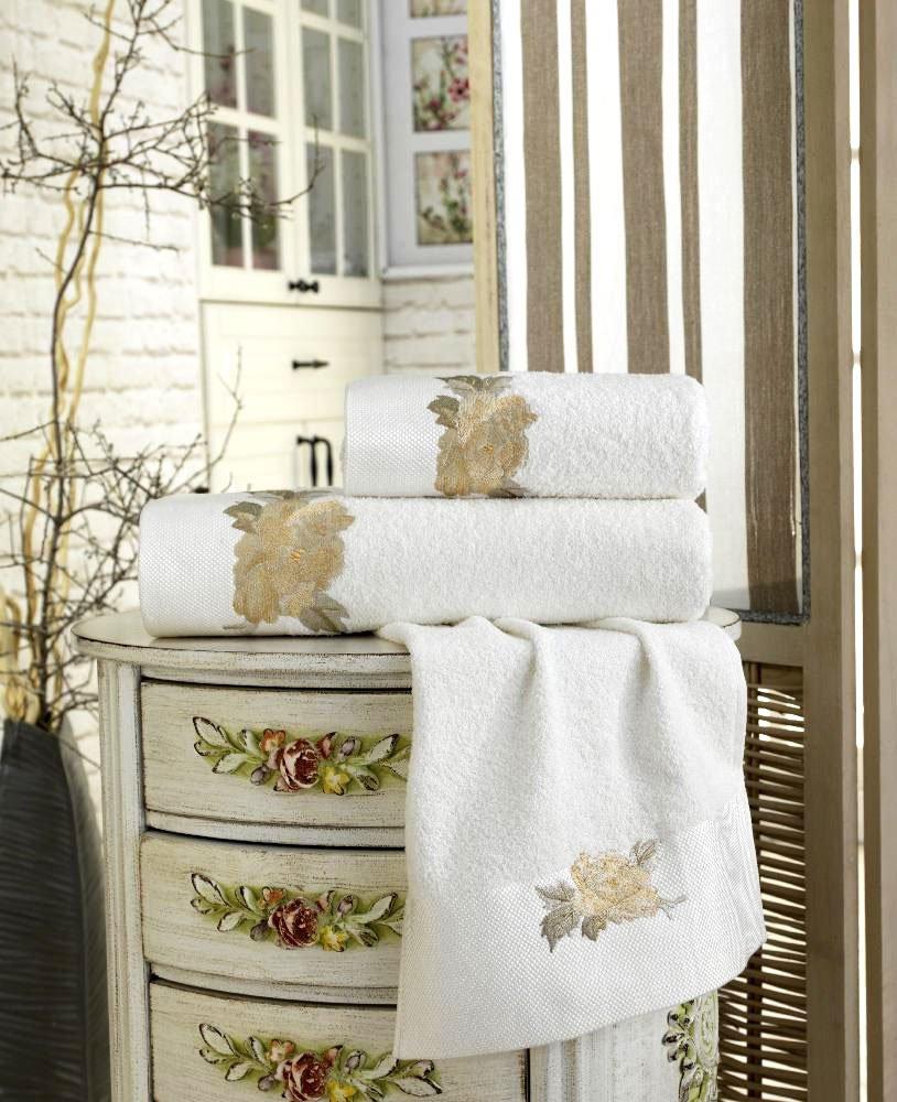 Комплект махровых полотенец (30x50 3шт) Rosa La villa