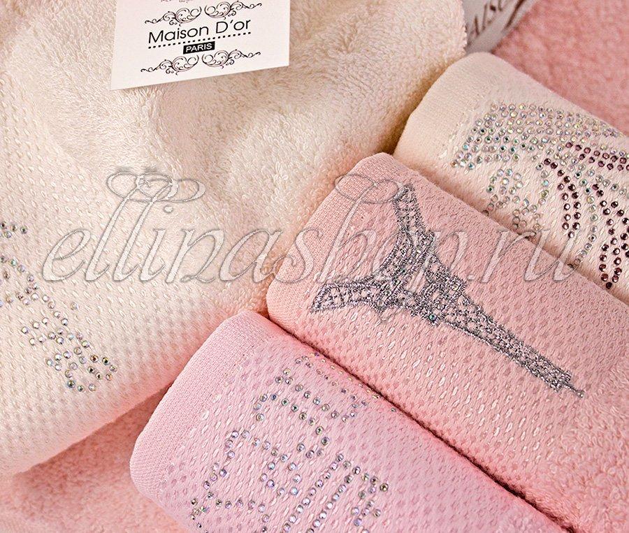 Tasli комплект полотенец 4шт. со стразами Maison Dor