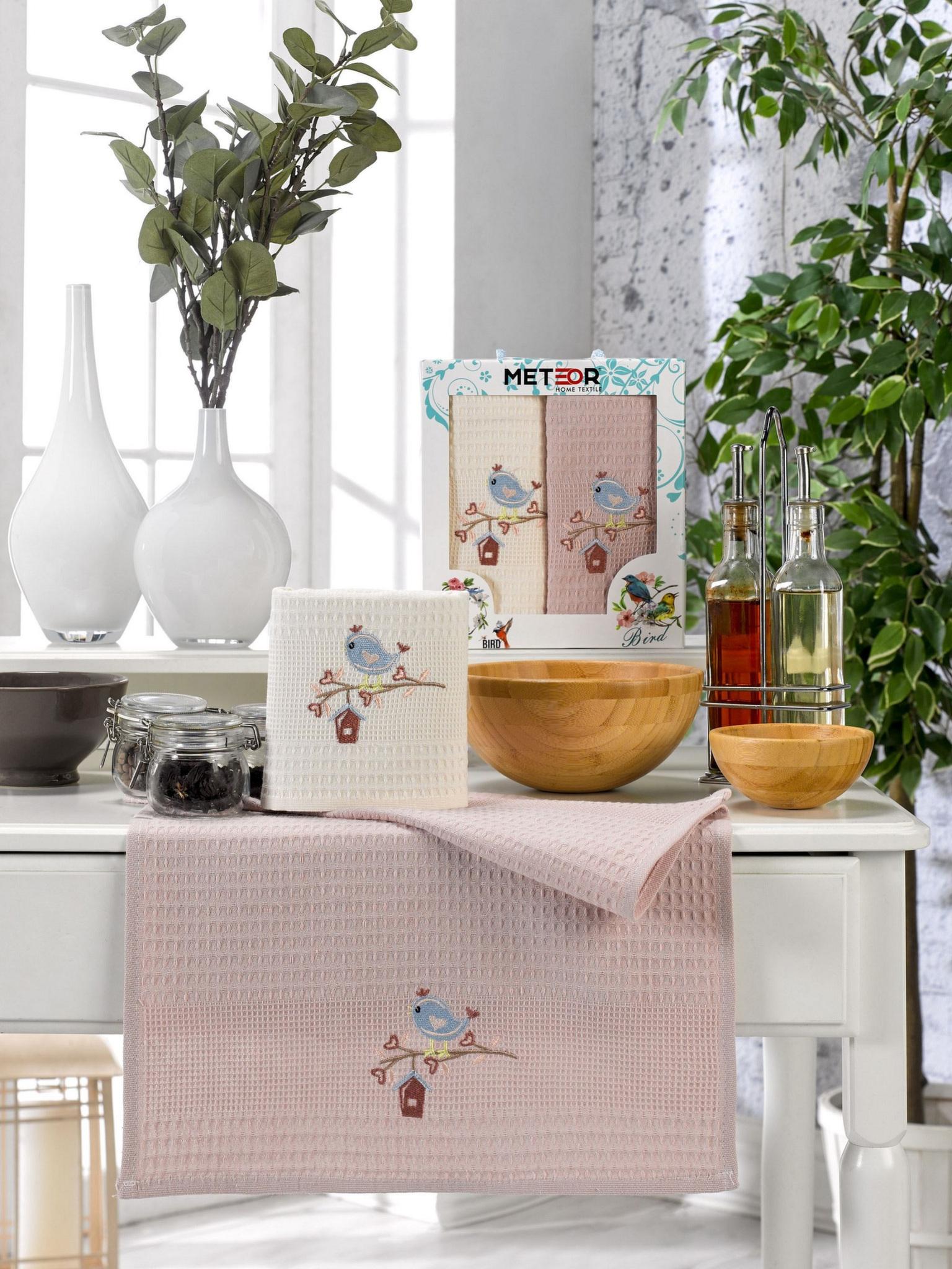 Комплект вафельных полотенец 40x60 (2 шт) 11500 Bionce kus Meteor
