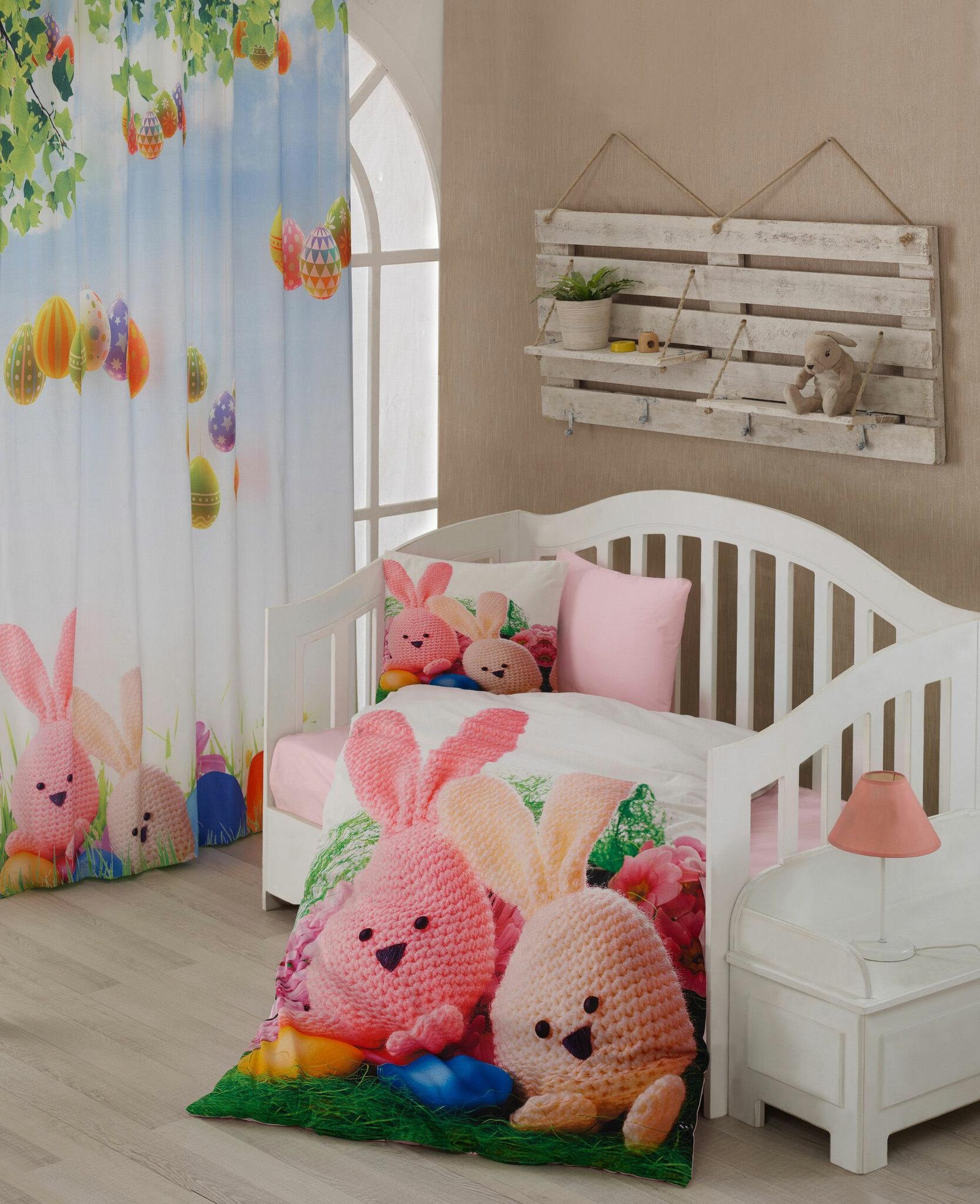 Постельное белье из ранфорса в кроватку 3D Rita Dantela Vita