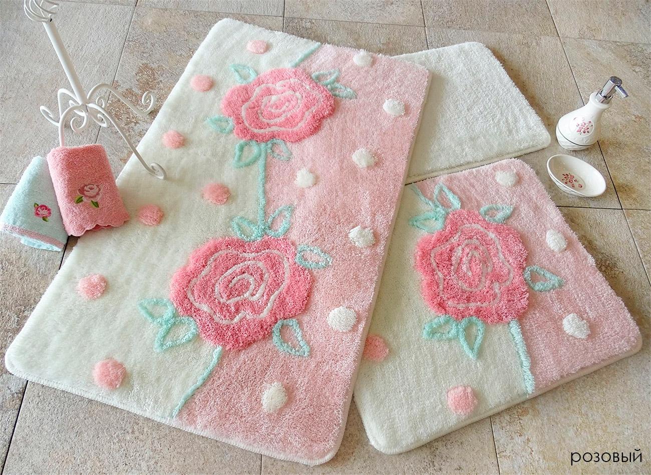 Комплект ковриков для ног (60x100+50x60) 9389 Oriyel DOCO