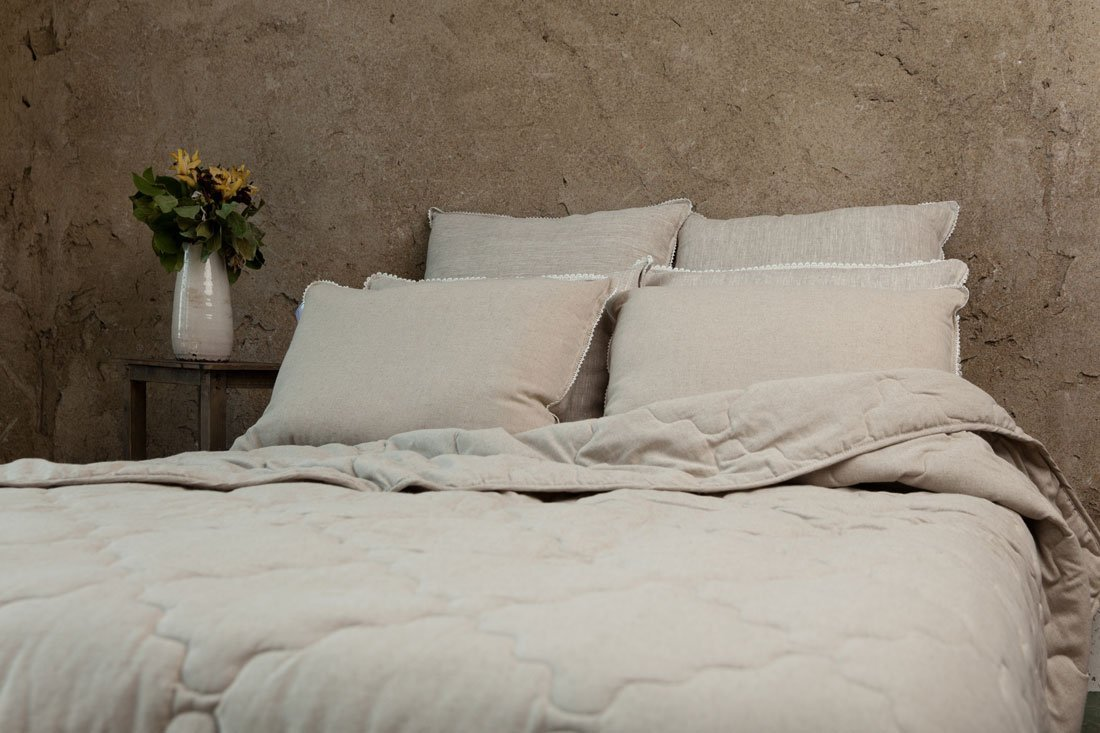 Дивный лен бамбуковые подушки и одеяла
