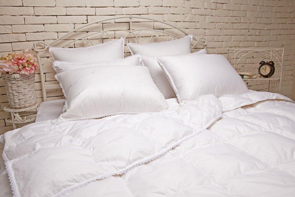 Идеальное приданое подушки и одеяла их пуха