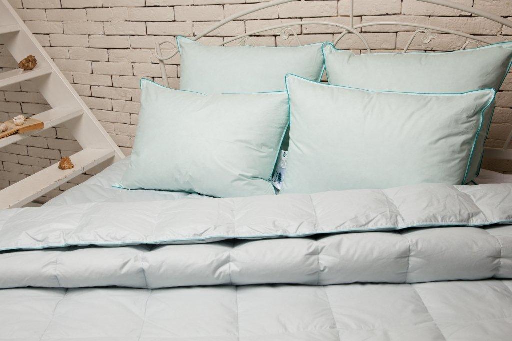 Морская свежесть пуховые одеяла и подушки