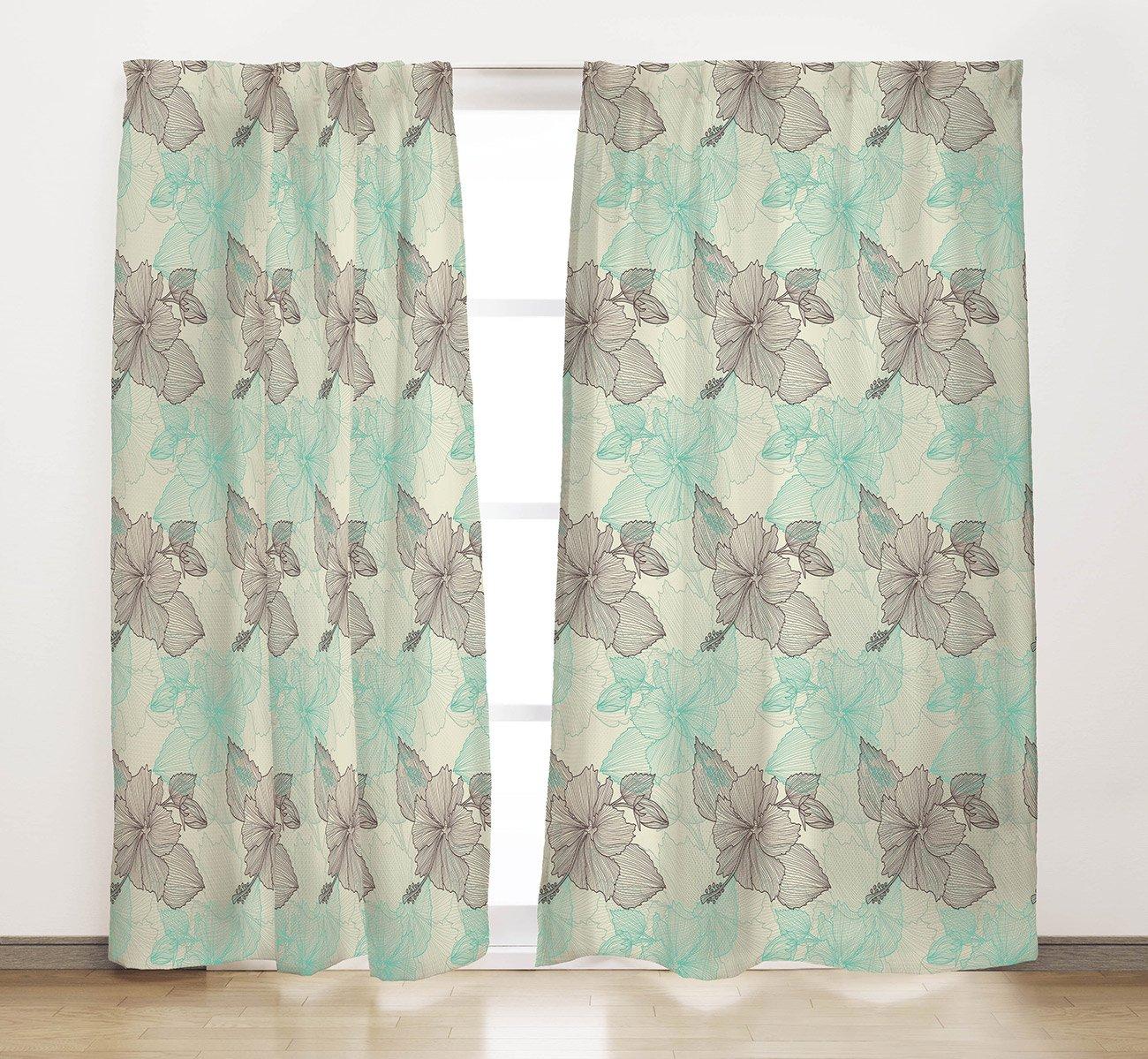 Комплект штор (микрофибра) Цветочный бриз Нордтекс