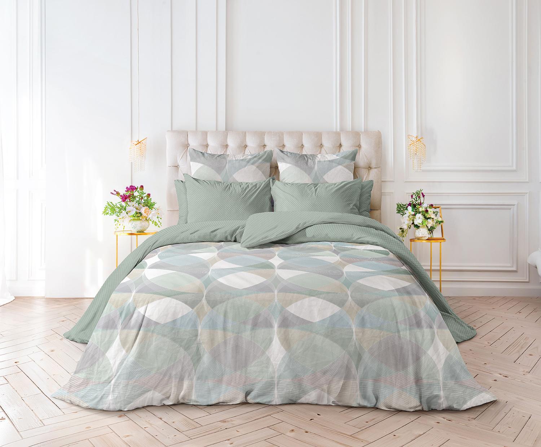 Комплект постельного белья из перкаля Geometric Verossa
