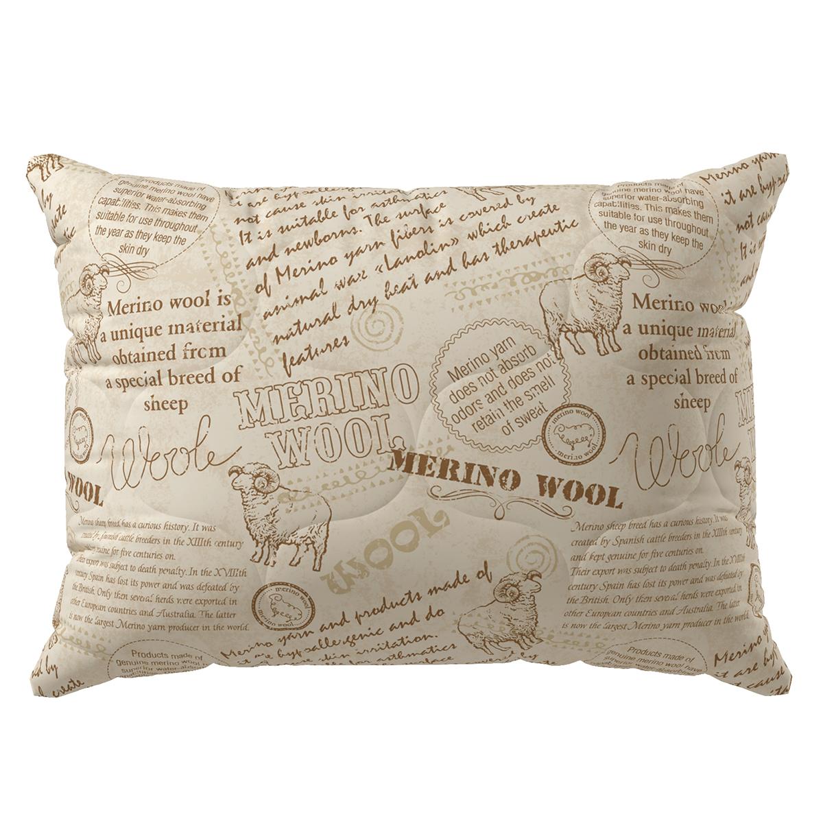 Подушка из шерсти мериноса Волшебная ночь Нордтекс
