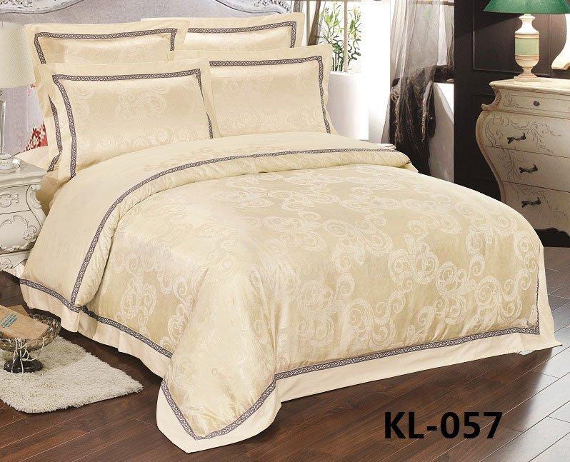 Комплект жаккардового белья KL057 Retrouyt
