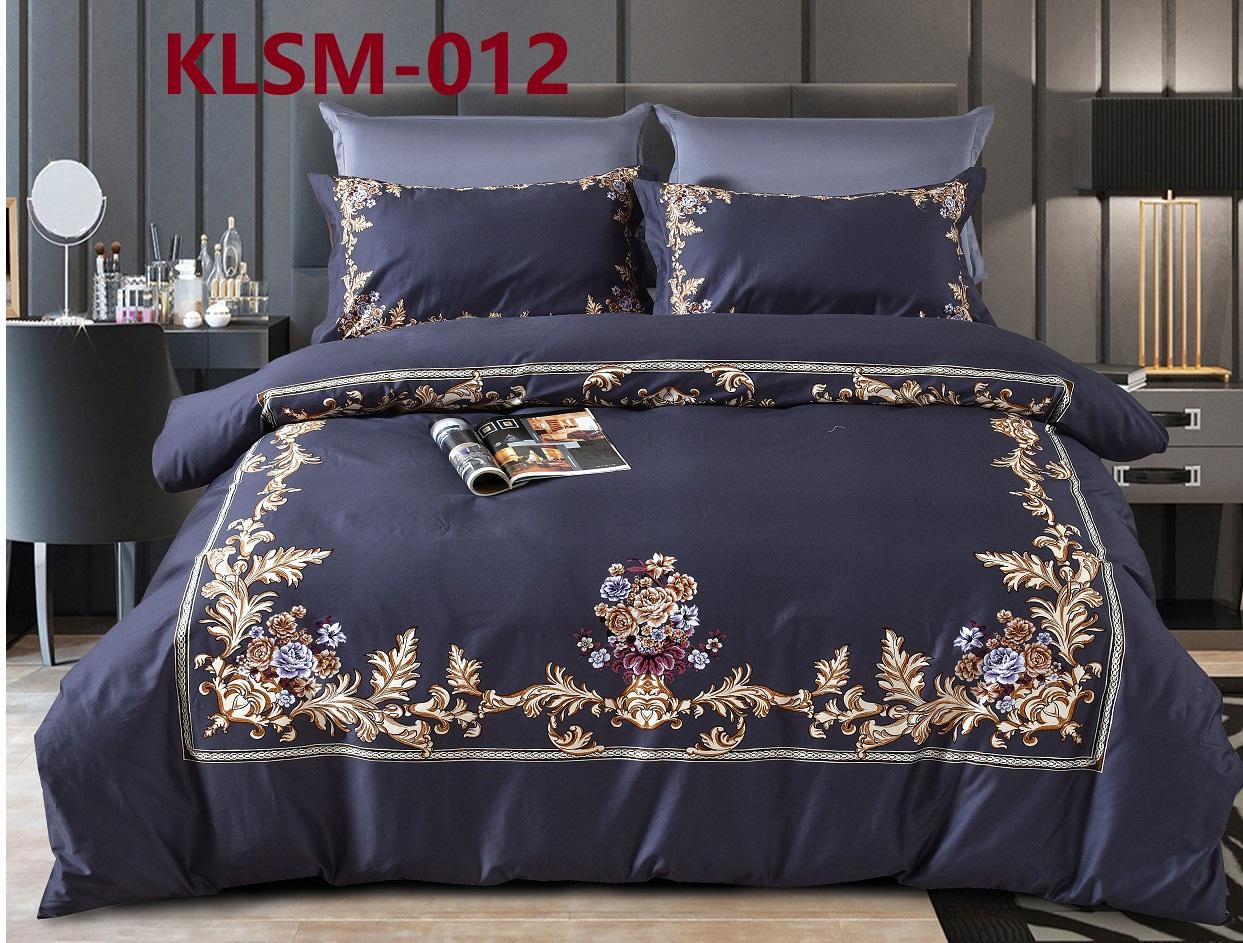 Комплект постельного белья из сатина-люкс KLSM-012 Retrouyt