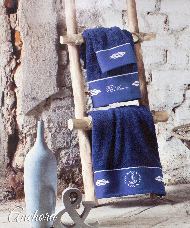 Комплект полотенец (50х100, 75х150) Anchora Tivolyo