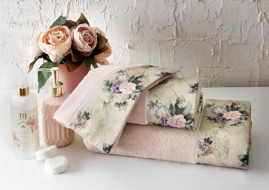 Комплект полотенец 30x50 (3 шт) Belissa Tivolyo
