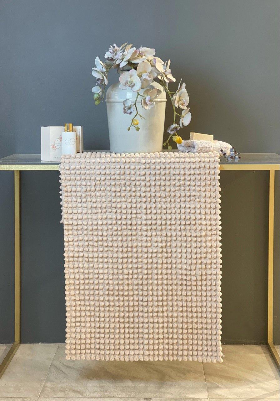 Комплект хлопковых ковриков для ванны (2 шт) Bubbles Tivolyo