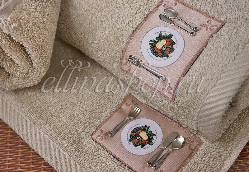 Kitchen комплект из 3 полотенец 30x50