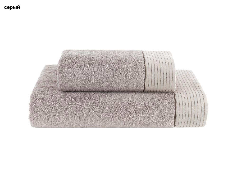 Комплект хлопковых полотенец (50*100+75*150) 2 шт Linen Soft Cotton