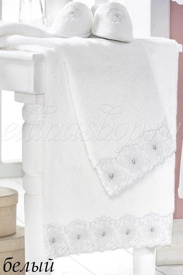 Melody Полотенце махровое с вышивкой Soft cotton