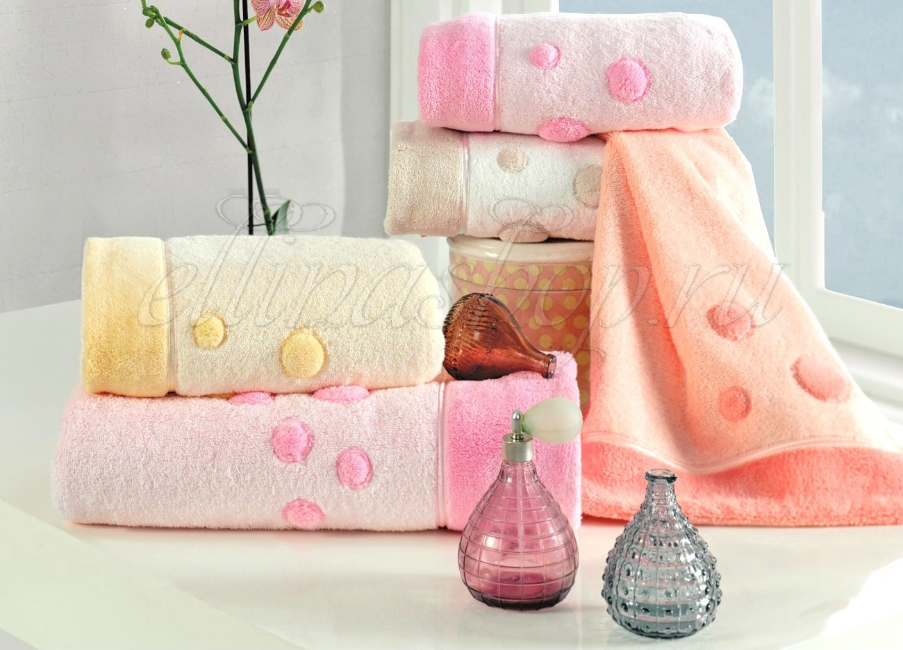 Puffy махровое полотенце Soft Cotton