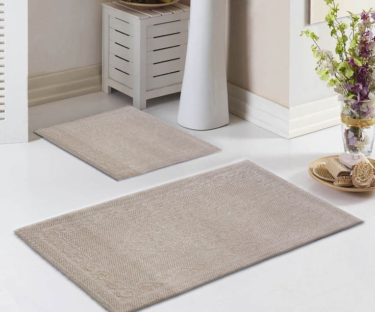 Комплект ковриков для ванны (60х100+60х50) Sonil Tivolyo Home
