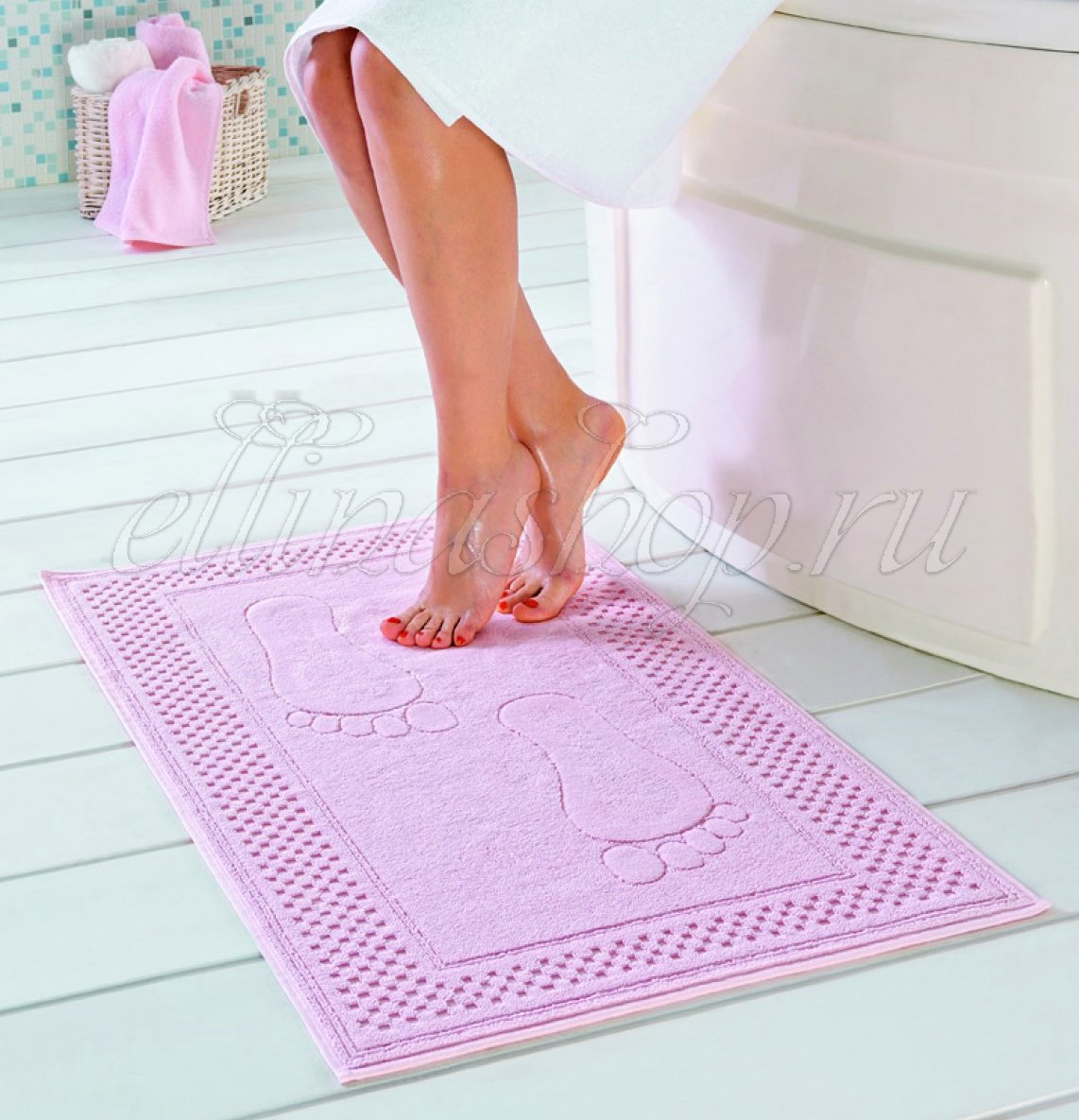 Step махровое полотенце для ног Soft Cotton