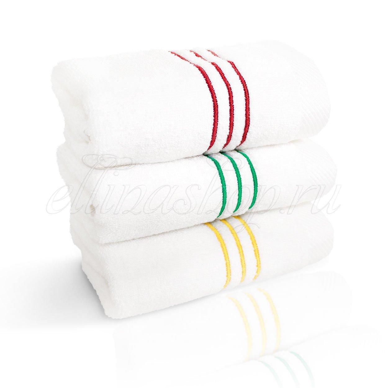 Stripe - комплект полотенец 3шт. Softcotton