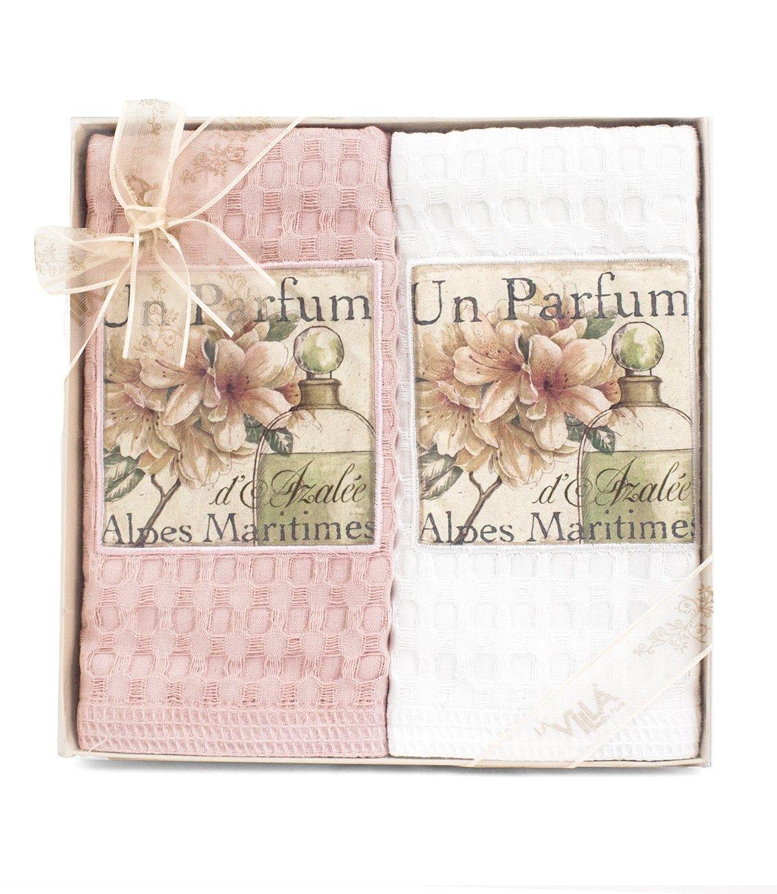 Комплект вафельных полотенец (50x70 2шт) Un parfume La villa