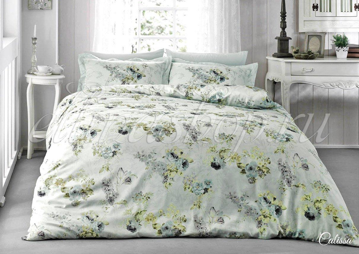 Calissa постельное белье из сатина Tivolyo