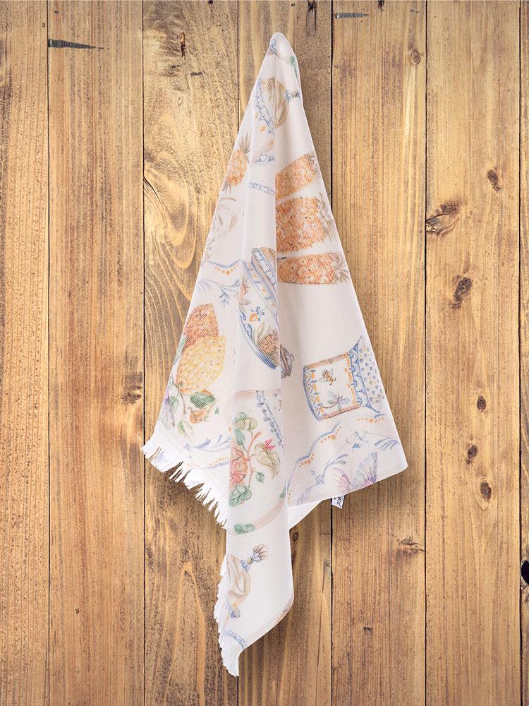 Махровое полотенце с жаккардом 50х70 см (1 шт) Coventry Tivolyo