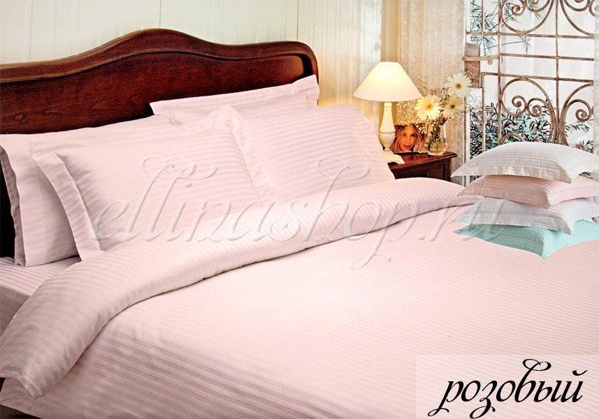 Жаккард розовый комплект постельного белья Tivolyo