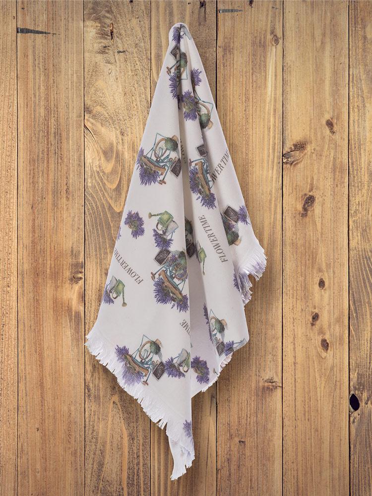 Махровое полотенце с жаккардом 50х70 см (1 шт) Provance Tivolyo
